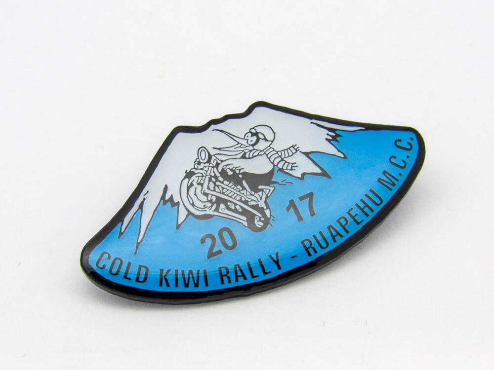 Cold Kiwi 2017 Pin