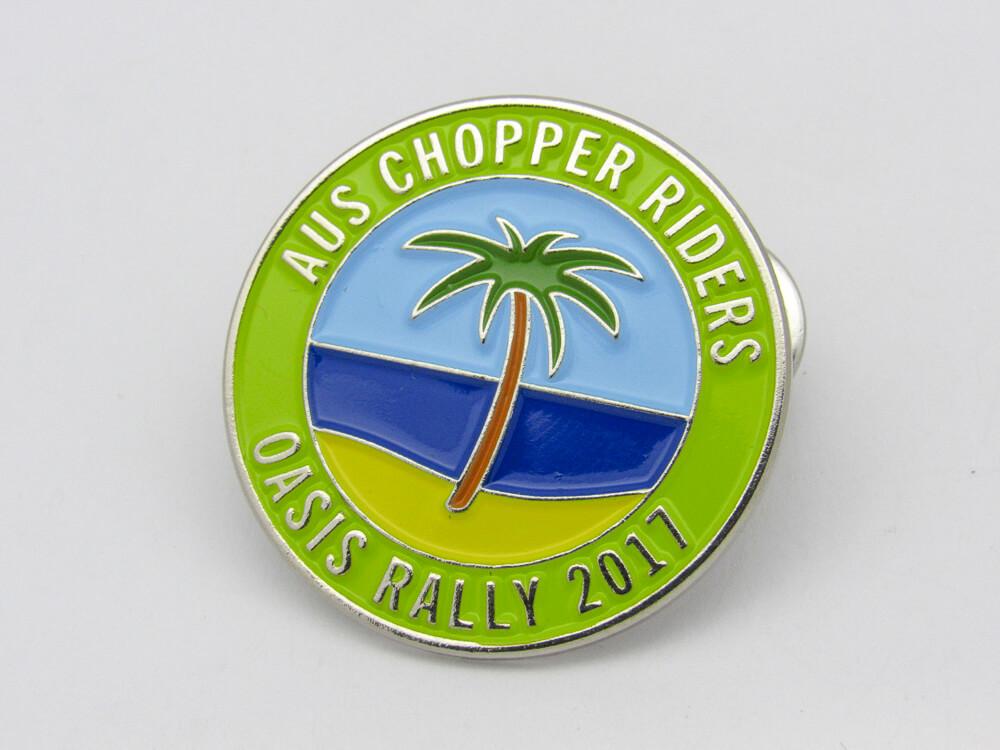 Oasis Rally Pin