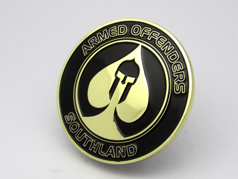 Armed Offenders Southland Coin