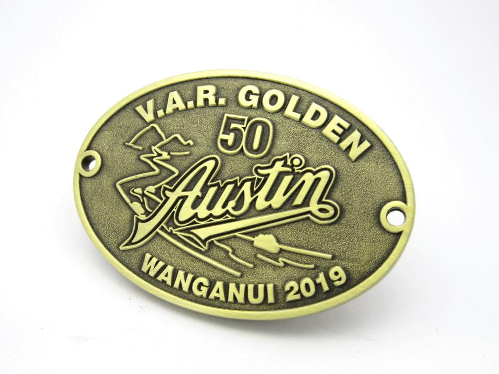 Austin Plaque