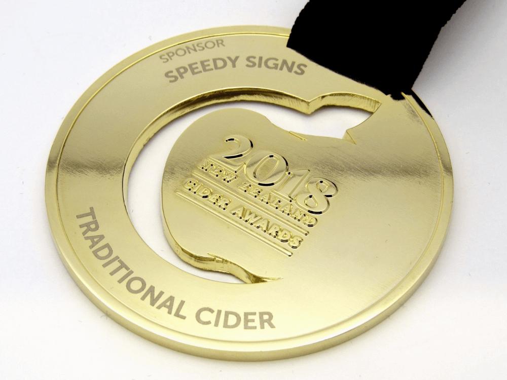 Cider 2018 Medal