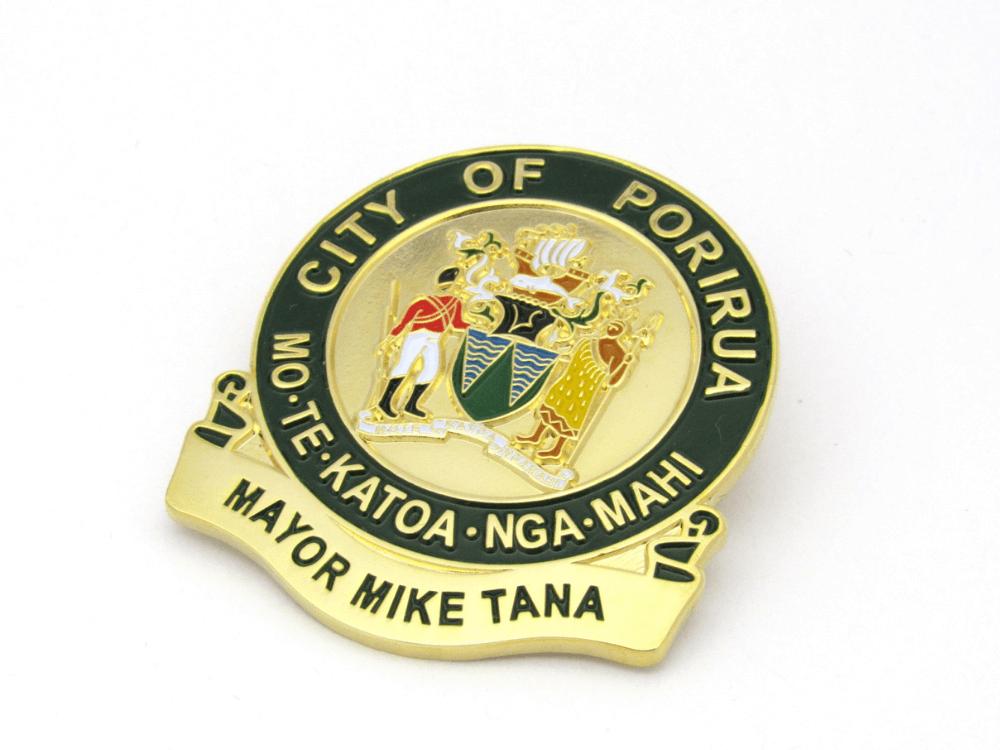 City of Porirua Pin