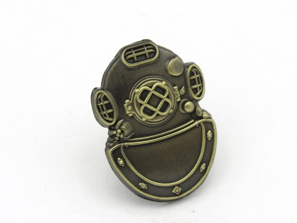 Dive Helmet Pin