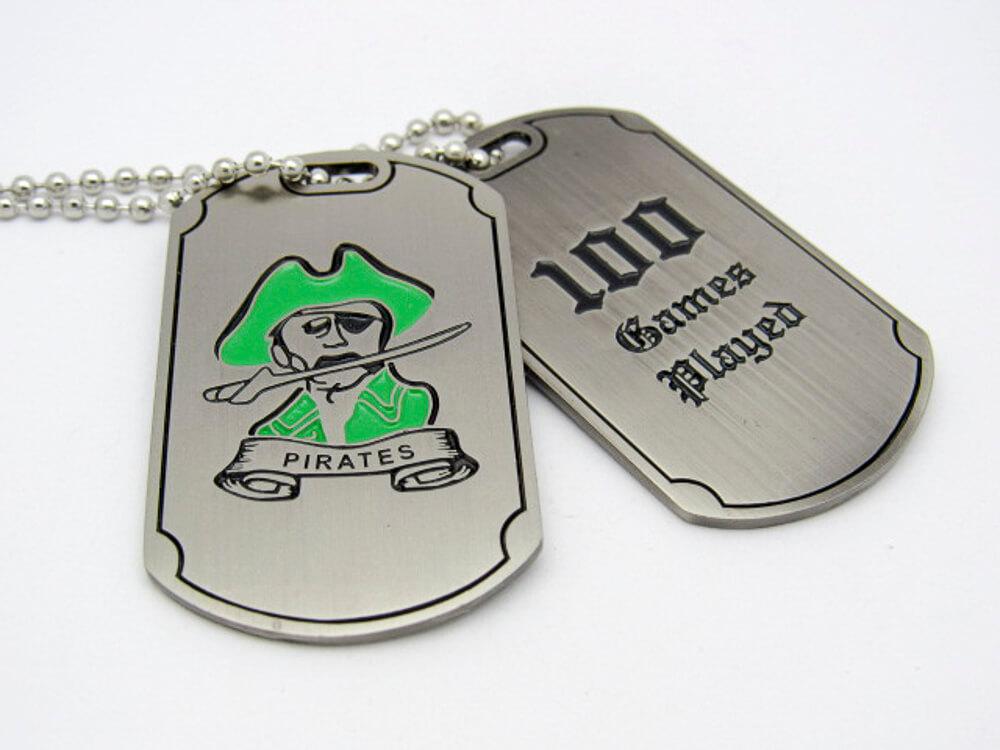 Pirates Dog Tags