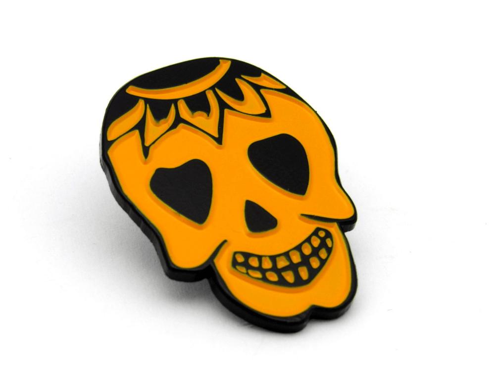 Dye Happy Pin