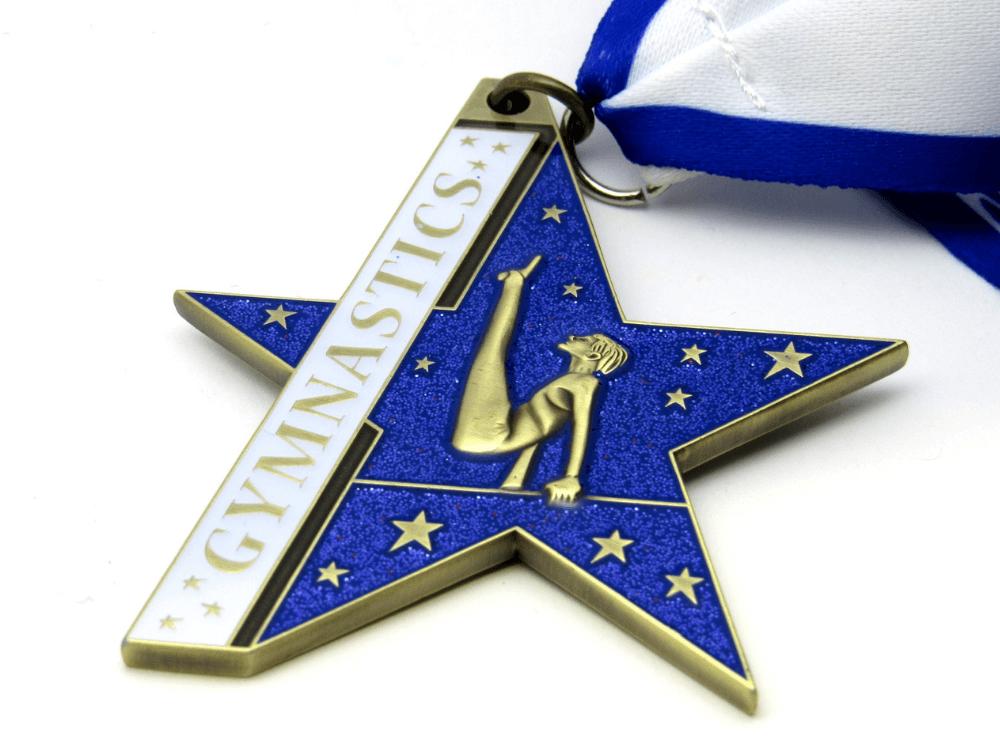 Gymnastics Blue Medal