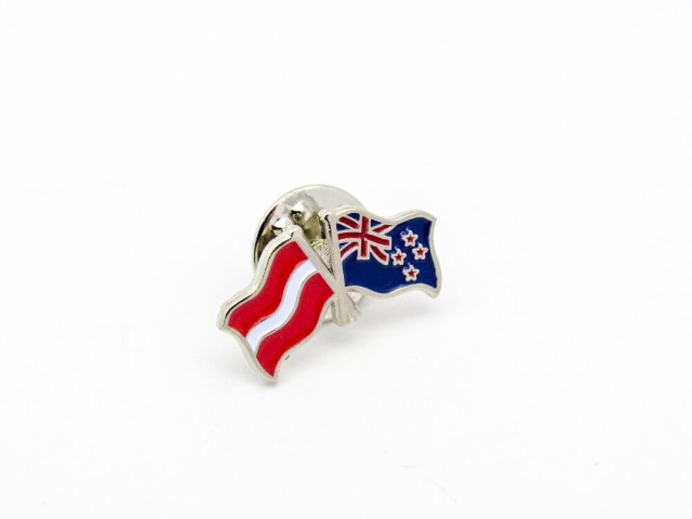 Dual Flag Pin