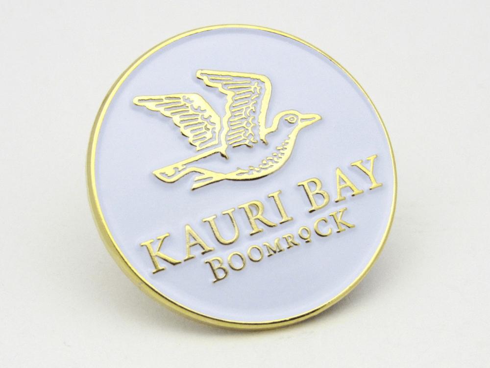 Kauri Bay Boomrock Pin
