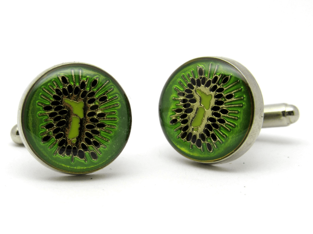 Kiwifruit Cufflinks