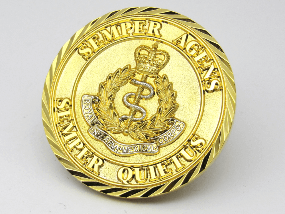 NZ Army Medical Corps Coin