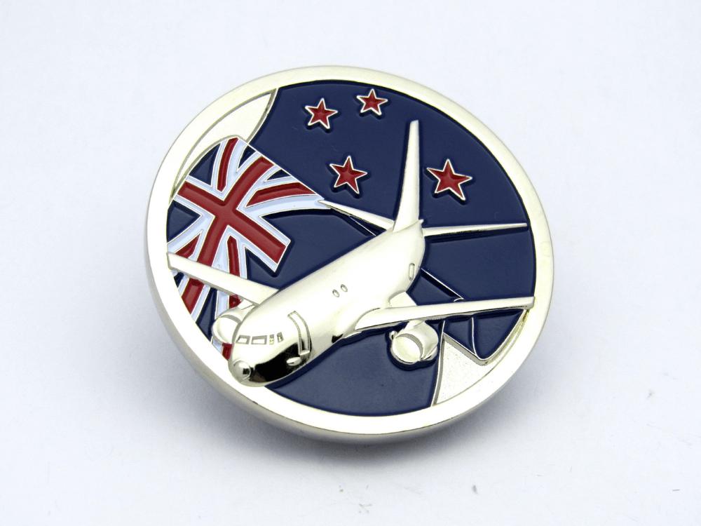 Plane Coin
