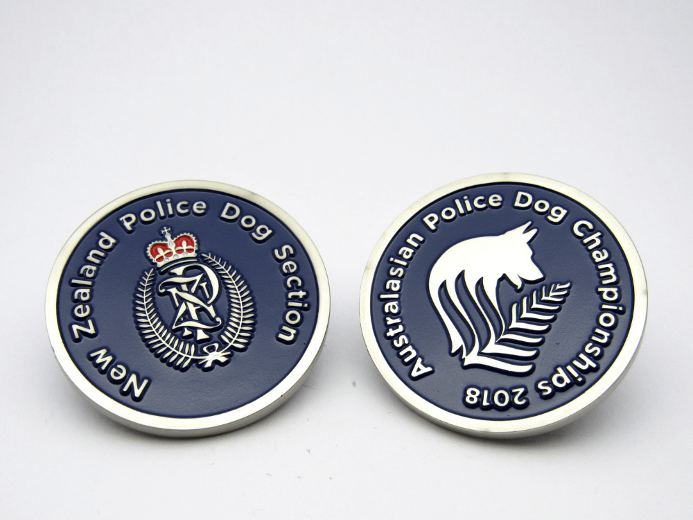 Police Dog Championship Coin