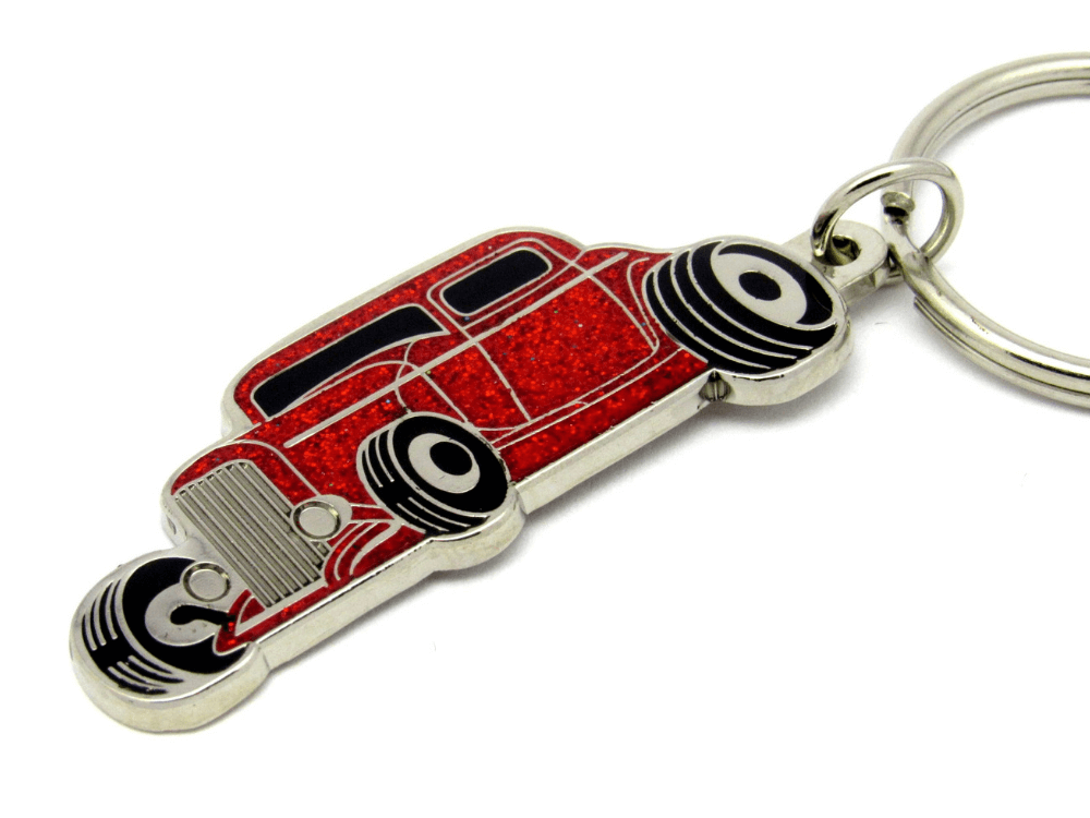 Red Car Keyring
