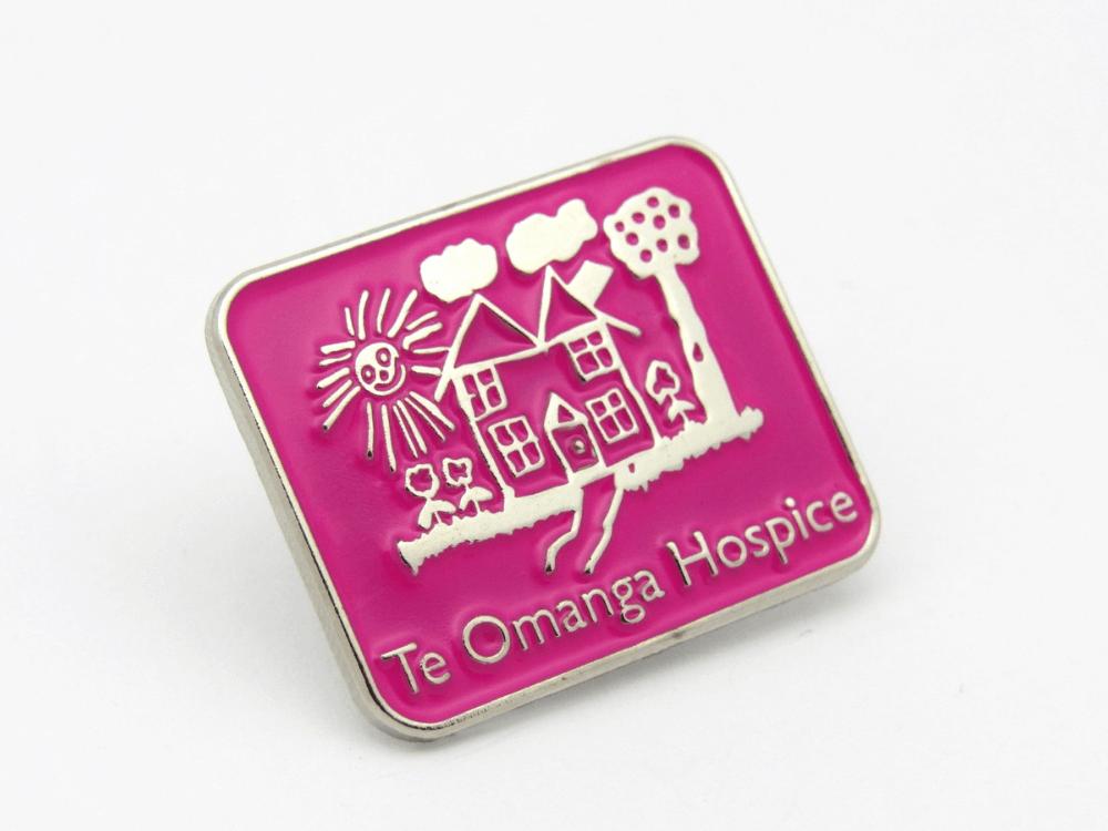 Te Omanga Hospice Pin