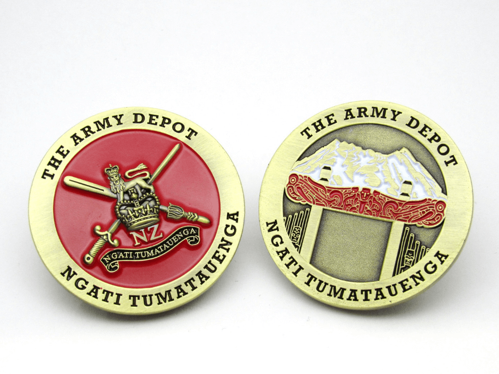 The Army Depot Coin