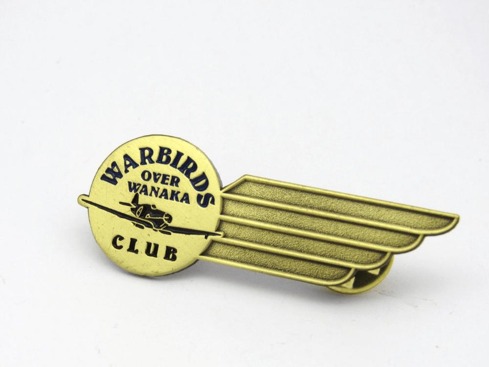 Warbirds Club Pin