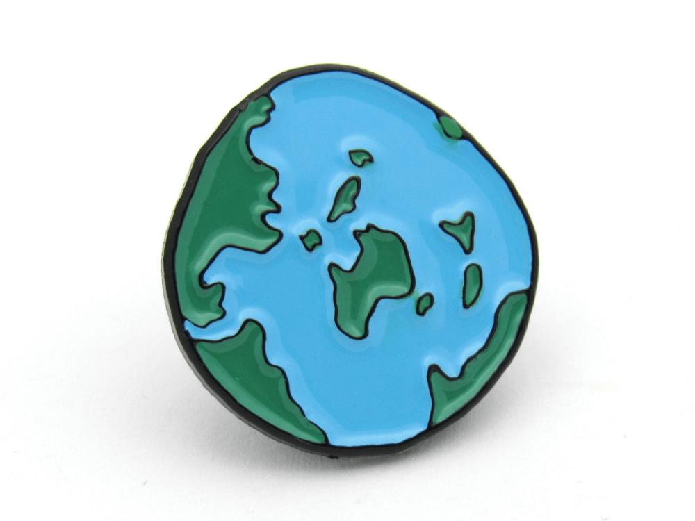 World Pin