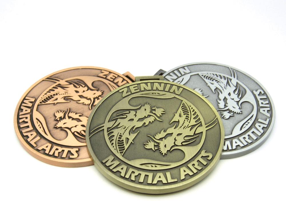Zennin Martial Arts Medal